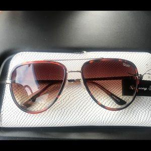Quay xJLO Aviator Sunglasses NWT